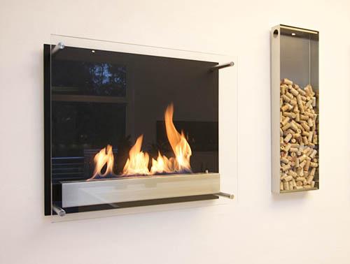 Pourquoi et comment choisir une cheminée bio-éthanol murale ?